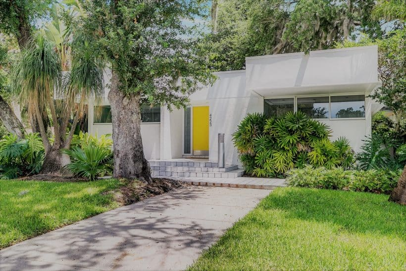 mid century home south tampa