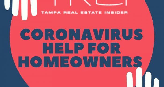 Coronavirus Help for Homeowners